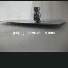 "Automatic temperature control 12"" 2mm led rain shower head square"