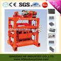 De cemento de hormigón máquina del bloque manual de, Qt4-40 ladrillo que hace la máquina