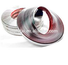 Nuevos productos de acabado de cromo, el coche tira de cromo, chrome trim de moldeo de la tira