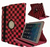 360 Rotating PU Wake/Sleep Leather Case Skin Cover for ipad stand,for ipad air 5 stand