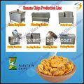 Le meilleur de bananes frites/chips de plantain exportés vers l'Équateur ligne de traitement, mexique