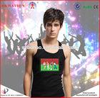 Welcome custom led light t shirt/led t shirt/t shirt led 2014 hot sale