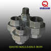 metric pipe fitting concial joint iron to iron Union