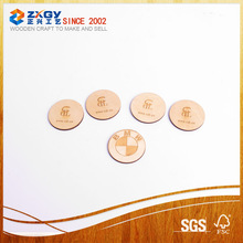 Customized Natural Decorative Cutting Wooden Piece