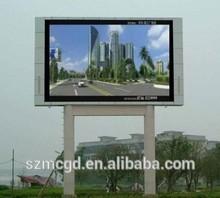 P10 1r1g1b Full Color Outdoor Led Display Screen Unit Board,16*16pixels,160mm*160mm