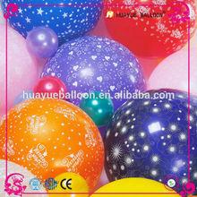 new product 2.8g latex balloon screen printing