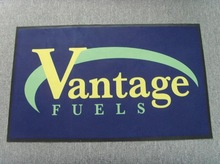 water absorbing logo door rug with rubber backing for sale