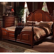 victorian solid wood bed
