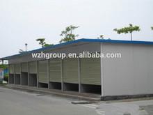 Quick Assembly Prefabricated Garage /Kiosks/warehouse