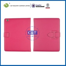 Portable Custom combo stand case for ipad 3