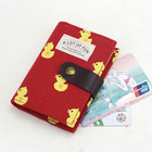 Animal Rubber Duck Cute Credit Card Holder Case