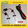 baratos de coches auto de la lámpara de xenón hid bombilla h7 12v 100w 6000k18 meses de garantía