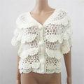 crochet giacca per le donne a maglia progettazione maglione di fatti a mano