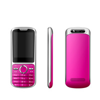 Perfect design 2.4 inch java mobile phone support wap/gprs