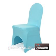 Pas cher bleu couverture de chaise spandex