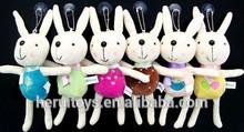 long leg smiling plush toys little cute animal rabbit plush toys
