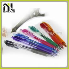 New seven colors transparent best quality custom press promotion polar advertising plastic best cheap ballpoint chinese pens