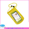 Smart pvc mobile phone waterproof bag with arm belt