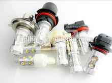 LED light CREE CAR part HB3/HB4 50W 12V/24V made in China OEM flood lamp turning light ring light