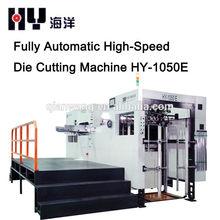 HY-1050E paper box automatic die cutting machines with stripping/paper box auto die cutting machine