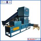 High efficiency horizontal packing rice husk bag press machine