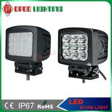 Waterproof IP67 10-30v 8100lm 6000k 5.2inch 90w offroad 12v led work light combination