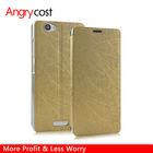 For Samsung Galaxy S5 i9600 Folio Flip Leather Case Litchi Pattern & Silk Rain Pattern Drizzle Line Wallet Style