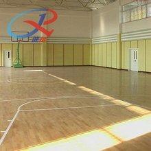 indoor basketball court wood flooring