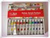 12 pcs handmade acrylic painting, wall drawing paint, art acrylic colour