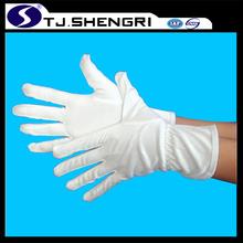 White Microfiber Gloves
