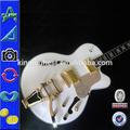G6136cst blanc, falcon corps creux guitare électrique à bas prix