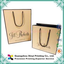 Guangzhou xinyi printing foldable custom paper big shopping bag