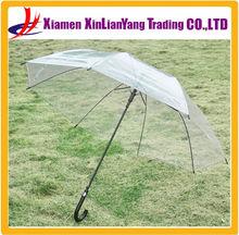 wholesale cheap poe disposable transparent clear umbrella