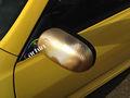 3d cromo fibra de carbono vinil envoltório do carro etiqueta de ouro