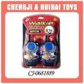 2014 popular de juguete de plástico walkie talkie para los niños