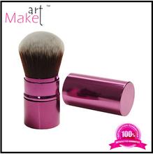 Makeup Dispensing Powder Retractable Cosmetic Brush