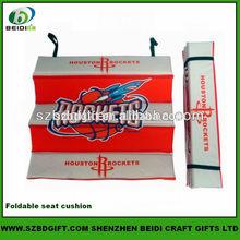 Heat Transfer Printing Fashion Designed Comfortable Foldable Seat Cushion