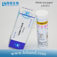 Hotsale 100strips/box Nitrite Test Paper