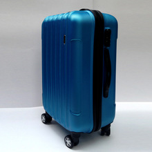 Hot selling 4 ratative wheel abs travel luggage
