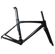 carbon road bike frame 49/52/54/56cm frame+seatpost+front fork 1set