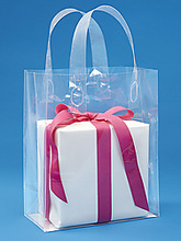 2014 New products clear vinyl plastic pvc gift bag
