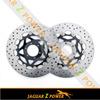Stainless steel Oversize Supermoto Front Brake Disc Rotor for KTM DUKE II 640 black