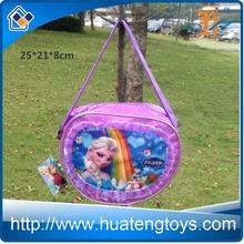 New arrival disny toys disny frozen elsa bag frozen doll elsa toys shoulder bag for kids HT6033