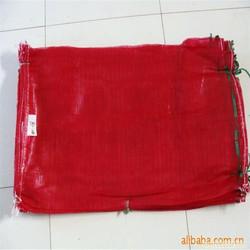 plastic onion/fruit mesh bag with drawstring
