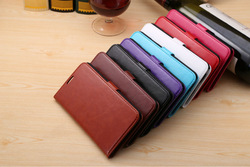 New Arrival Classical Folio Magnetic Flip PU Leather Case with Card Slot Holder Stand Case For Samsung Note 3 Lite N7505