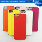 New Arrival Electroplating Technology PC Hard Case For Iphone 5S