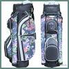 OEM canvas golf bag with cooler bag