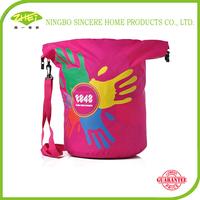 Cheap wholesale plastic beach tote bag