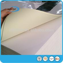 78/80/85/90gsm glossy /mirror coat paper sticker paper