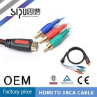 SIPU 3 rca to hdmi cable
